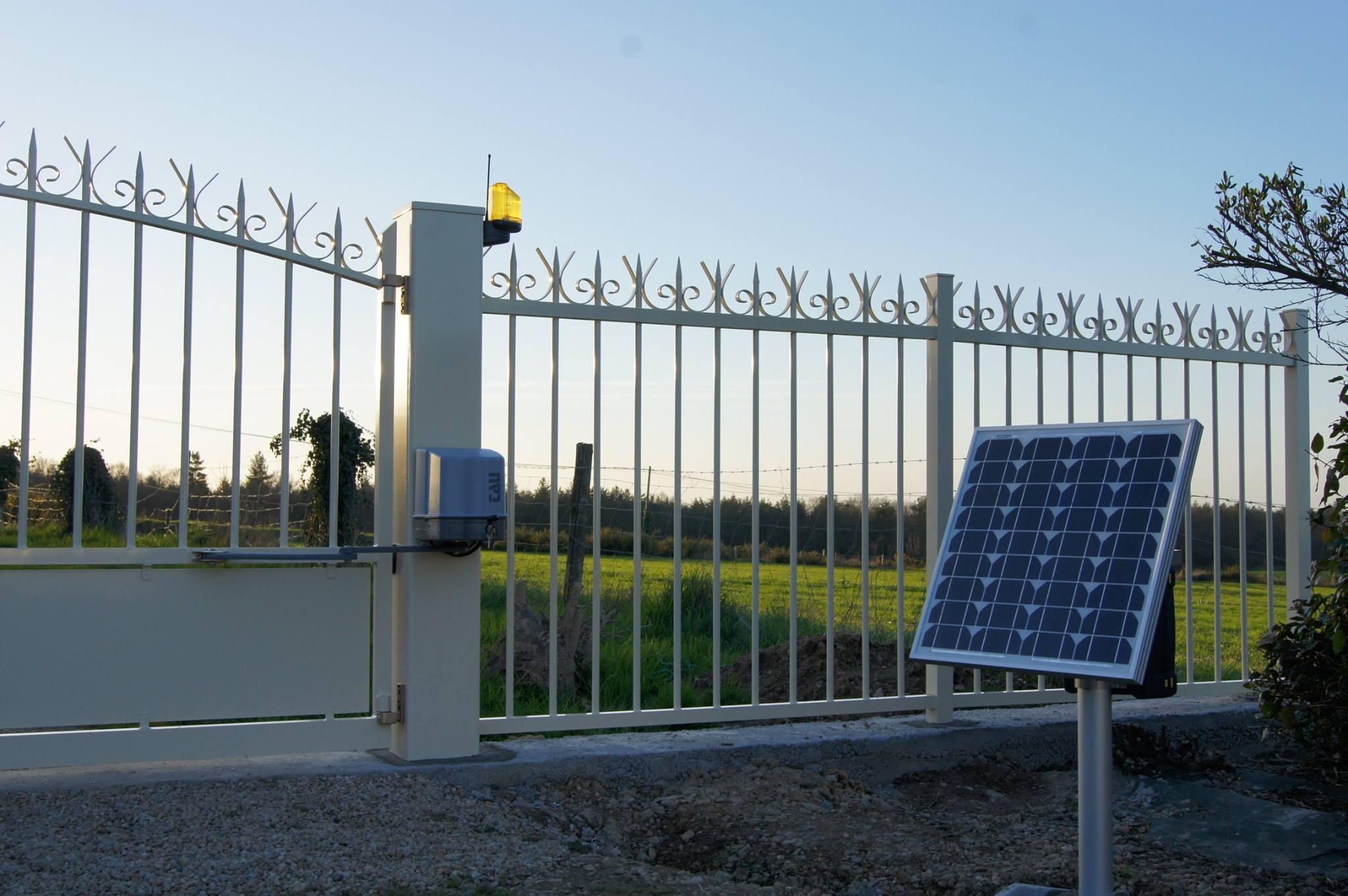 Cổng tự động cánh mở ZIP TAU Italia