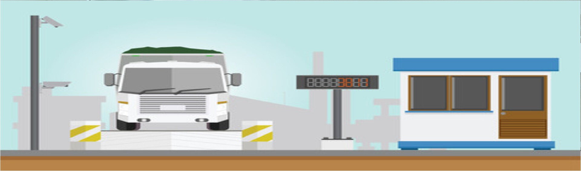 Trạm cân xe tải điện tử